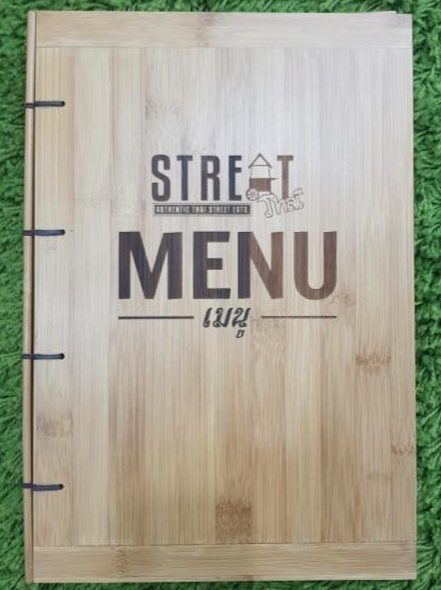 STREAT Thai Menu