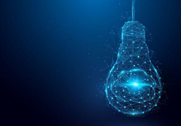 image of light bulb symbolises new ideas